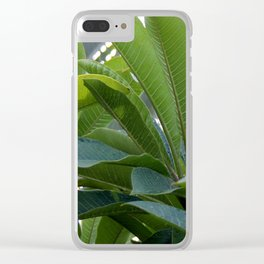 Frangi Leaves Clear iPhone Case
