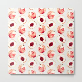 Pink Peach Pattern I Metal Print