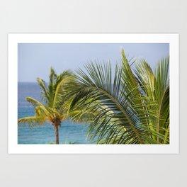 Keep Palm Art Print