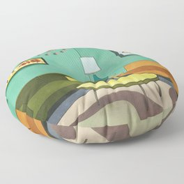 The Room 1962 Floor Pillow