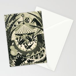 Merry-go-round fun Stationery Cards