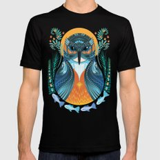 The Nesting Fisher King Black Mens Fitted Tee MEDIUM
