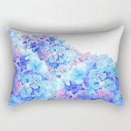 mountain of hydrangea Rectangular Pillow