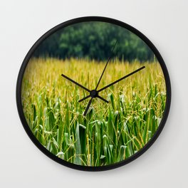 Cornfield Wall Clock