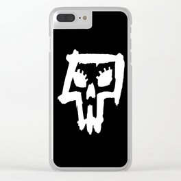 Sexy Skull - White Clear iPhone Case