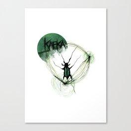 Kafka Hommage Canvas Print