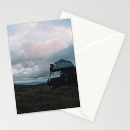Mountain Camp, NZ Stationery Cards