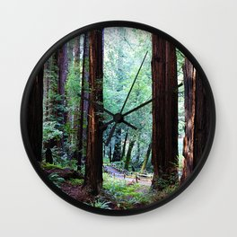 Muir Woods 2 Wall Clock