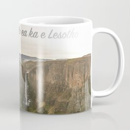 The Place of Smoke Coffee Mug