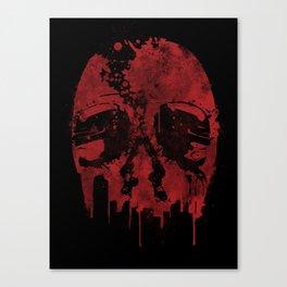 Robocop: Motorcity Justice Canvas Print