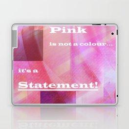 Pink Statement Laptop & iPad Skin