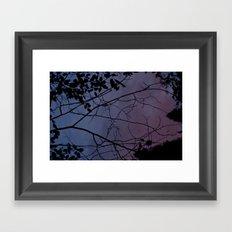 Changes At Dusk Framed Art Print
