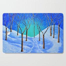 Winter Woods Cutting Board