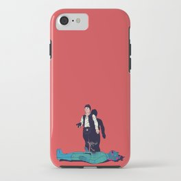 Over my dead body iPhone Case