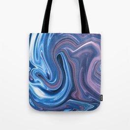 Fluid No. 2 - Waves in Space Tote Bag