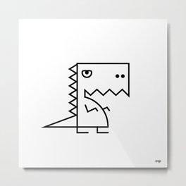 BRD-Dinosaur Metal Print