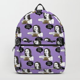 Hashtag it's all happening Backpack