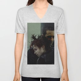 An Embrace With Marla Singer - Fight Unisex V-Neck