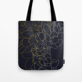 Pure poetry and some flowers Tote Bag