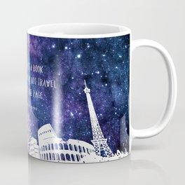 The world is a book Coffee Mug