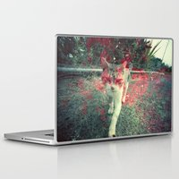 evil Laptop & iPad Skins featuring Evil cat by Deprofundis