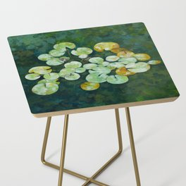 Tranquil lily pond Side Table