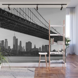 Manhattan Bridge, New York City, Hudson river, New York skyline (2020-6-GNY193) Wall Mural