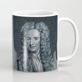 Gravity / Vintage portrait of Sir Isaac Newton Coffee Mug