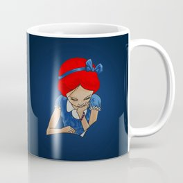Alice in Readerland Coffee Mug