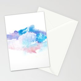 Clouds Watercolor Stationery Cards