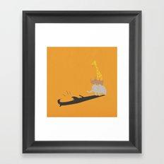 ROARRR Framed Art Print