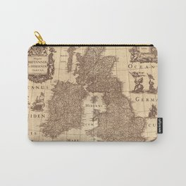 Map Of Great Britain 1631 Carry-All Pouch