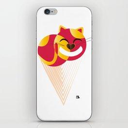 Ice Cream Cat iPhone Skin