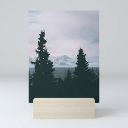 Mount Redoubt Mini Art Print