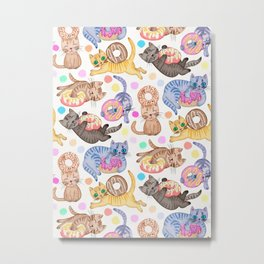 Sprinkles on Donuts and Whiskers on Kittens Metal Print