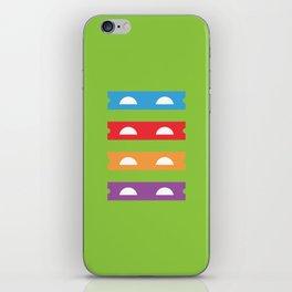 Teenage Minimal Ninja Turtles iPhone Skin