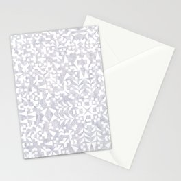 Makai Geo White Stationery Cards