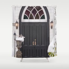 Welcome Warmth Shower Curtain