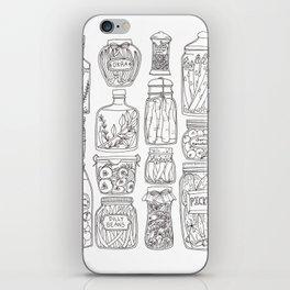 Pickles Print iPhone Skin