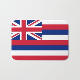 Hawaiian Flag, Official color & scale Bath Mat