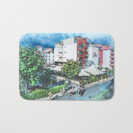 Bulgaria city 7 #bulgaria #sunnybeach Bath Mat
