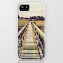 Boardwalk in Newtown Creek iPhone Case