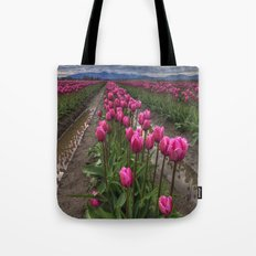 Pink Impression Tote Bag
