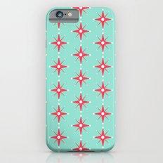 Retro Red Stars iPhone 6s Slim Case