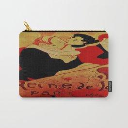 Vintage poster - Reine de Joie par Victor Joze Carry-All Pouch