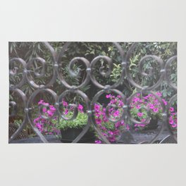 Iron Love Gate Rug