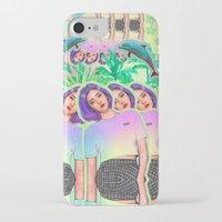 aloha iPhone & iPod Cases featuring Aloha by Sara Eshak