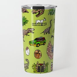 Jurassic pattern lighter Travel Mug