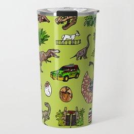 Jurassic pattern lighter Travel Mug