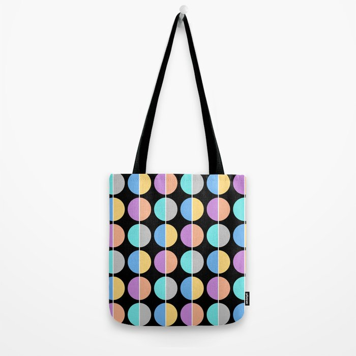 BACK TO THE 70's (abstract geometric pattern) Tote Bag
